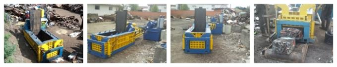 Forward out Scrap Metal Baler