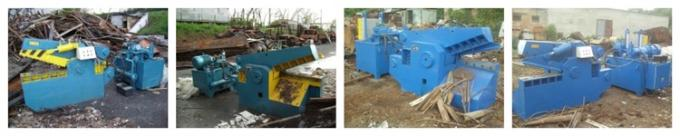 Scrap Metal Shearing Baler Machine