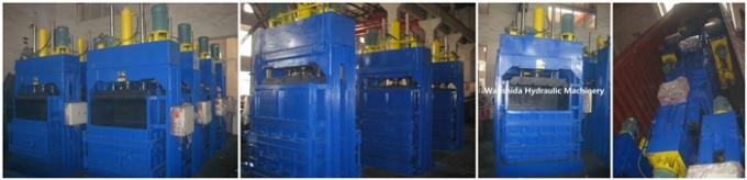 Vertical Waste Cardboards Baler