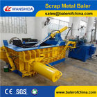 China CE Certification Hydraulic Beverage Cans Baler factory
