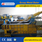Push out Scrap Steel Balers