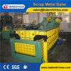 Forward out Aluminum scrap metal baler