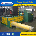 China WANSHIDA used metal scrap baler factory