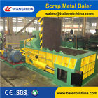 Wanshida 160ton Non ferrous Side push out metal baler press export to South Africa