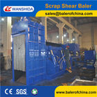 Scrap Metal Baler Shear with Diesel Engine