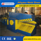 China Q43-2500 Scrap metal cutting machine alligator steel shearing machine (CE) factory