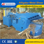 China China Factory price Hydraulic Metal Shear/Alligator Shear 160ton cutting force factory