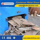 Container Shear Machine Box Shear Scrap Metal Cutting equipment from China Wanshida