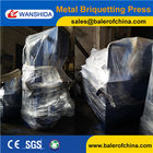 Metal Chips Briquette Press machine
