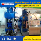 Good Quality Scrap Metal Balers & Good reputation automatic scrap metal briquetting press (Factory price) on sale