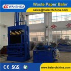China Waste Paper Vertical Balers