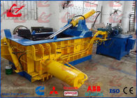 China Y83-125 Hydraulic Scrap Metal Baler For Light Metal Turnings Shavings Press into Bales factory