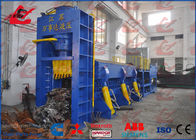China WANSHIDA Metal Baler Shears Hydraulic Shear Baler Machine Chamber Size And Bale size Customized