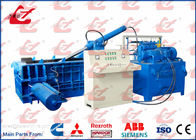 China Full Automatic Hydraulic Metal Baler Compactor Scrap Steel Baling Press Waste Copper Wire Baler Machine factory