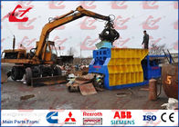 PLC Automatic Scrap Metal Shears Container Type For Waste Metal Recycling Yards Station 10Ton/hour