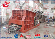 China Automatic Metal Scrap Cutting Machine Hydraulic Scrap Shear Box Shearing Machine 400Ton Cutting Force