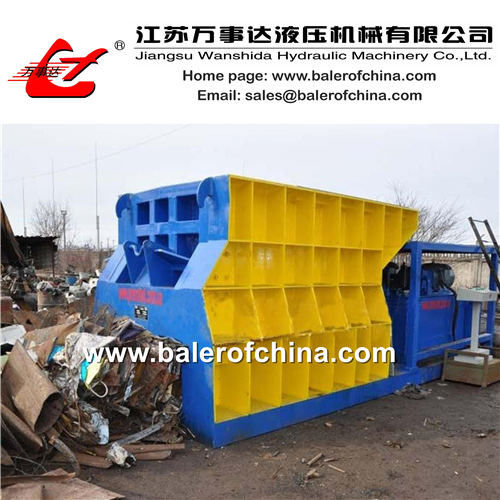 Horizontal Container Scrap Metal Shear