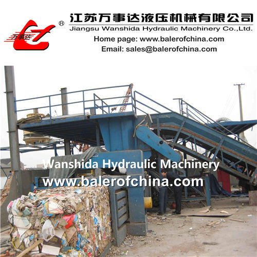China Waste Paper Balers for sale