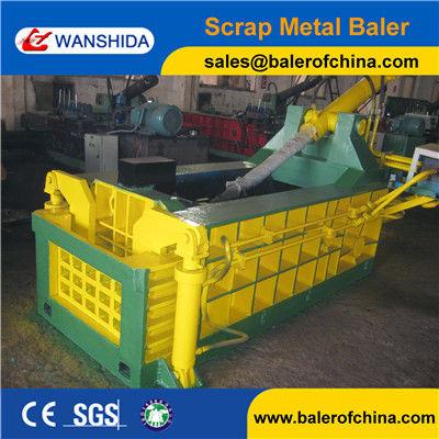 Forwarder out Scrap Metal Baling Press