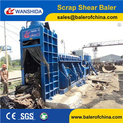 Scrap Metal Shear Baler Logger