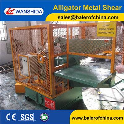 Guarding hydrauic alligator shear