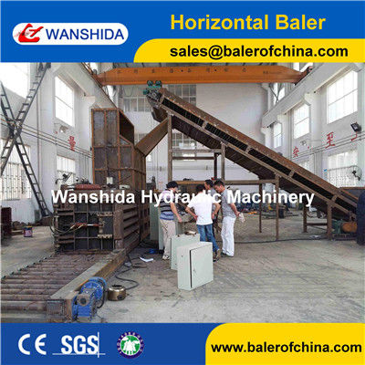 China Plastic PET Bottles Baler factory