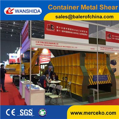China Scrap Container Shears For Sale
