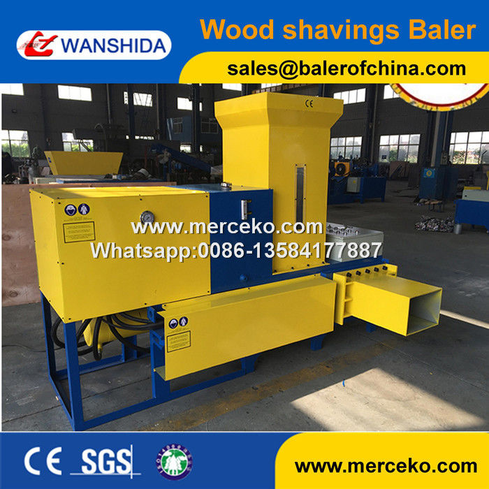 Wanshida Hot Sale Of Baling And Bagging Machines Sawdust
