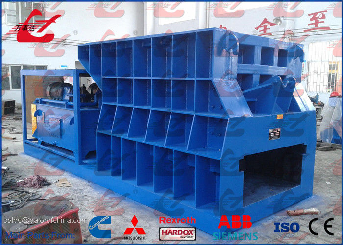 Hydraulic Container Metal Shears Horizontal Cutting Machine Automatic Cutting 400Ton Cutting Force