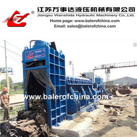 China Scrap Metal Shearing Baler Machine factory