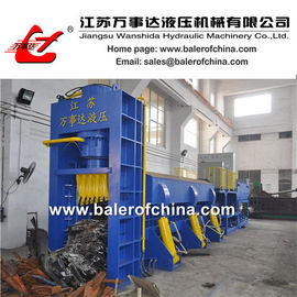 China Scrap Bailer and Sheer for car bodies factory