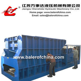 China Horizontal Scrap Metal Cutting machine for scrap metal factory