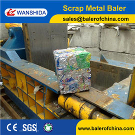 China Wanshida Aluminium Beverage Cans Baling Machine from China Factory factory