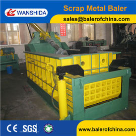 China WANSHIDA CE Certification Hydraulic Scrap Steel Metal Compactor Baling Press Baler factory