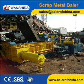 China WANSHIDA Heavy Duty Scrap Metal Baler Compactor for HMS 1 & 2 Scrap factory