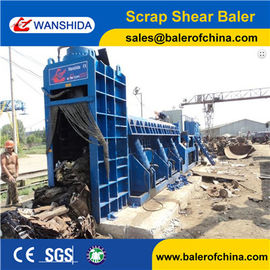 China Scrap Shearing Baler for Sale factory