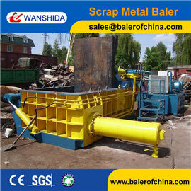 China China Scrap Metal Cast iron scrap  baling press compactor Baler Factory factory