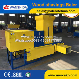 Wanshida Hot sale of baling and bagging machines sawdust compress baling maching