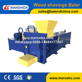 Wanshida High Quality Hydraulic Rice Hull Baler User Friendly
