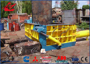 China Y83-125 Hydraulic Metal Baler For Scrap Steel Copper Aluminum Tin Cans Customize Accepted factory